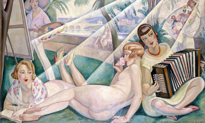 Gerda Wegener. Summer day