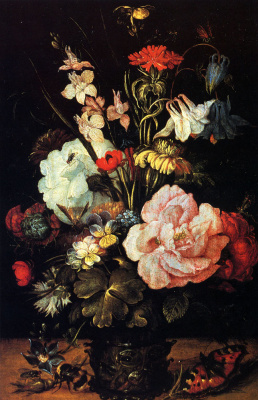 Рулант Саверей. Цветы в вазе
