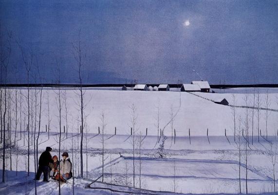 Питер Шостак. Снега