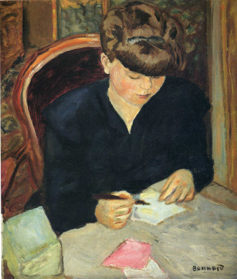 Pierre Bonnard. Letter