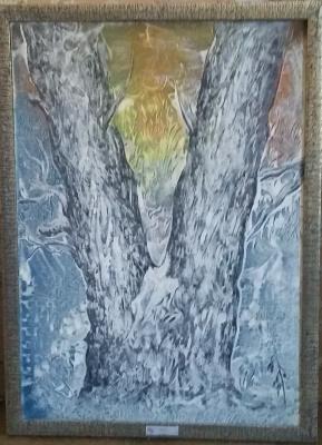 Nikolay Zverev. Winter Poplar
