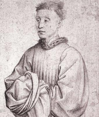 Рогир ван дер Вейден. Портрет молодого мужчины
