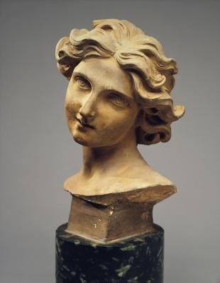 Gian Lorenzo Bernini. The head of the angel