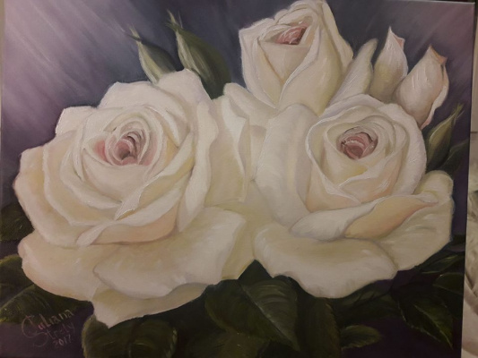 Juliana Strely. Delicate roses