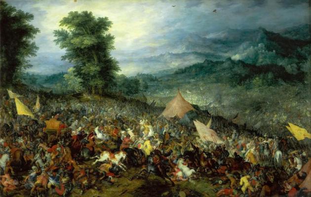 Jan Bruegel The Elder. Battle of Issus