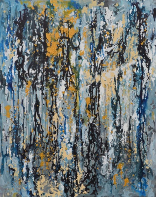 "Tanya Vasilenko. ""Source of revival"". Acrylic. Canvas. Source of revival. Acrylic on Canvas."