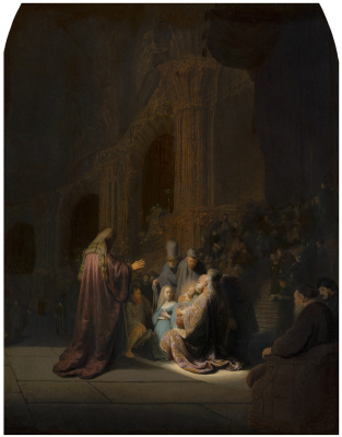 Rembrandt Harmenszoon van Rijn. The Song Of Symeon The God-Receiver