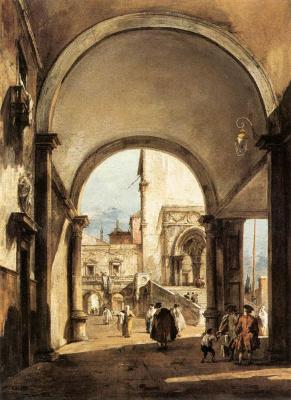Франческо Гварди. Архитектурная фантазия