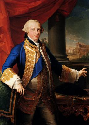 Помпео Джироламо Батони. Портрет Эдварда Августа, герцога Йоркского