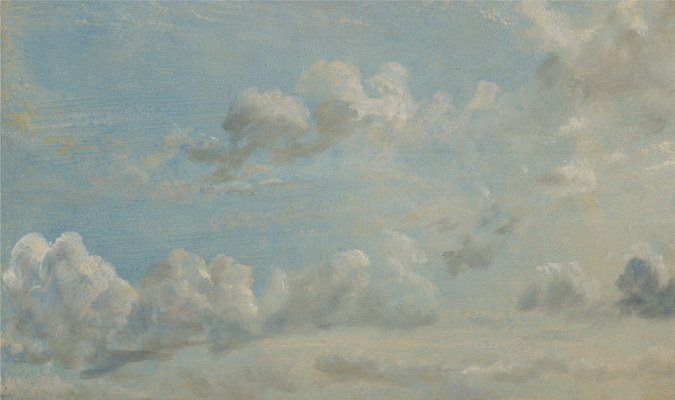 John Constable. Clouds Etude