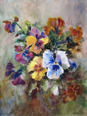 Сергей Владимирович Дорофеев. Delicate bouquet