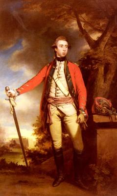 Joshua Reynolds. Portrait of George Townsend
