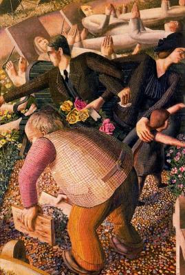 Stanley Spencer. Roses