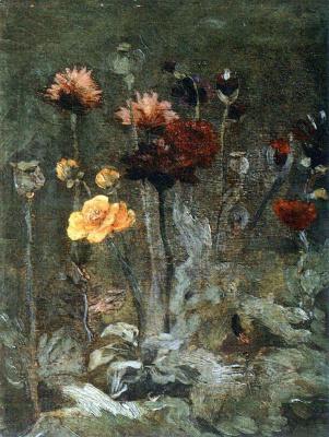 Винсент Ван Гог. Натюрморт со скабиозой и лютиками