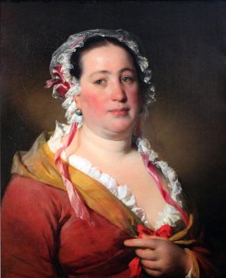 Фридрих фон Амерлинг. Портрет миссис Плач.  1850