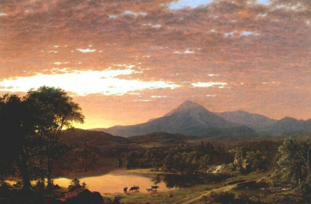 Frederick Edwin Church. Landscape