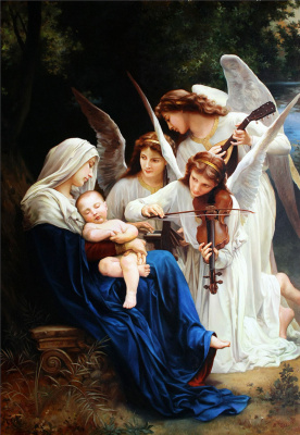 Vladimir Abat-Cherkasov. The song of the angels