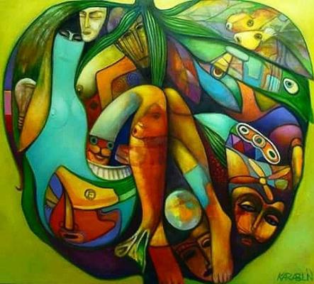 Andrey Karablin. A letter to Eve. Emerald soul