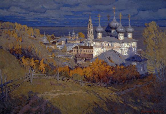 Василий Васильевич Куракса. Yurievets on the Volga