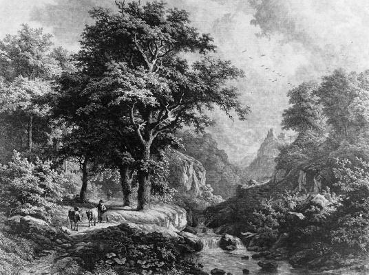 Иосиф Блис. Горный пейзаж