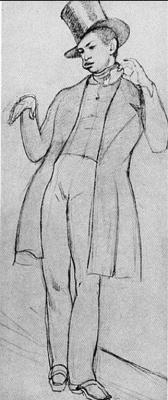 Павел Андреевич Федотов. Молодой человек с бутербродом