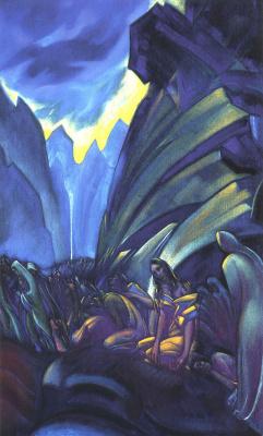 Svyatoslav Nikolaevich Roerich. Crucified humanity