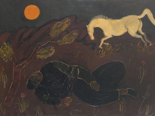 Пинхас Литвиновский. Белая лошадь