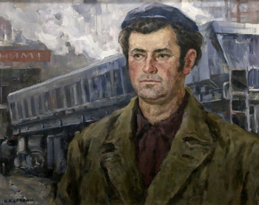 Николай Петрович Карякин. Портрет бригадира Бомбуляк П.
