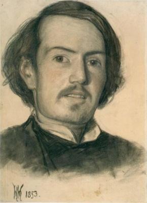 William Holman Hunt. Portrait Of Walter Howell Deverell