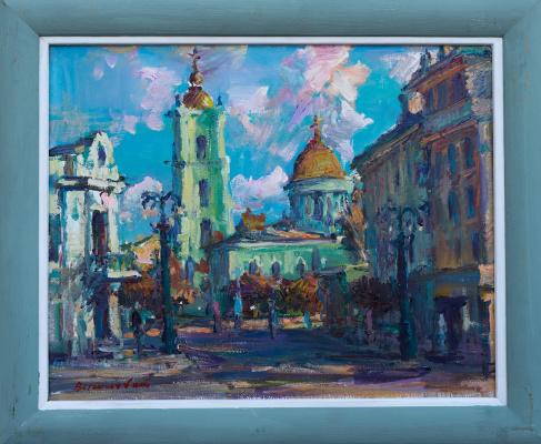 Igor Eduardovich Vasilevsky. City landscape