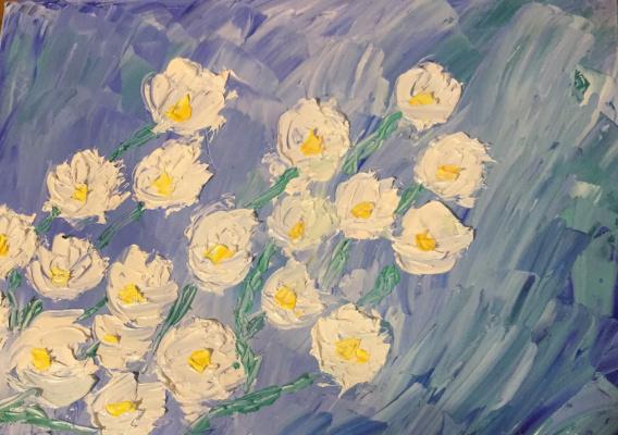 Victoria Valentinovna Zachkova. Jasmine flowers