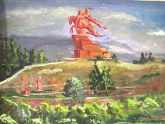 Olga Suncheleeva. Batken. Manas