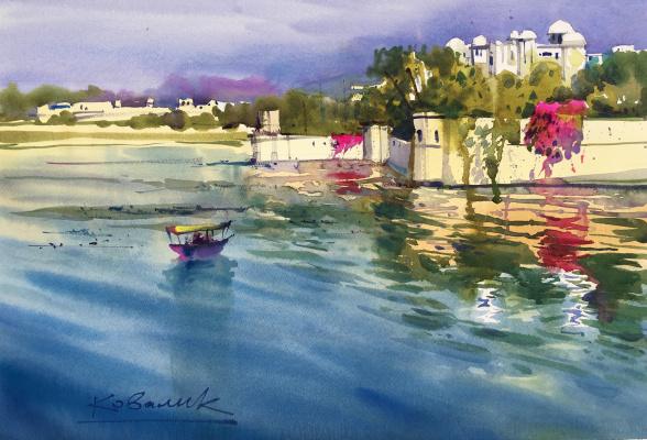 Andrew. Boats. India