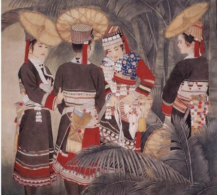 Пэн Лиан Сюй. Китаянка 13