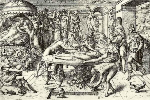 Пьер Верьо. Погребальный обряд в древнем Риме