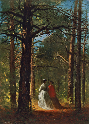 Winslow Homer. Oaks in Waverly, FL