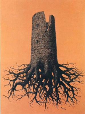 René Magritte. The Stupidity Of Almayer