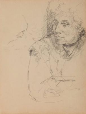 Альберто Джакометти. Портрет матери Аннет