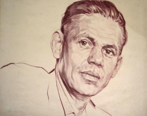 Владимир Максимович Соколов. Portrait of E. Savich