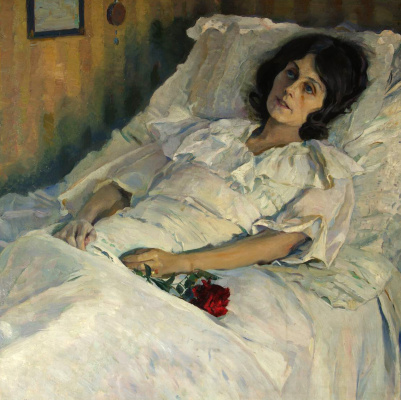 Mikhail Vasilyevich Nesterov. Sick girl