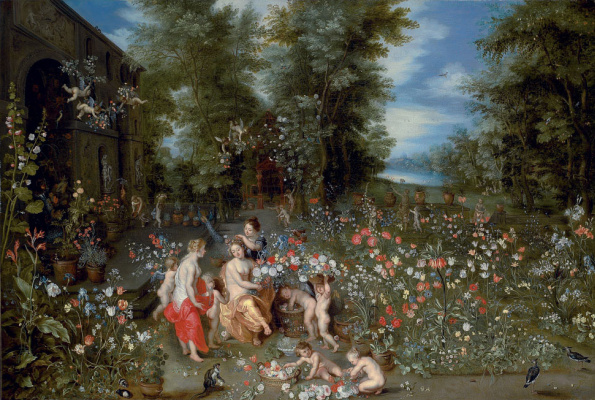 Jan Brueghel the Younger. Allegory of Spring