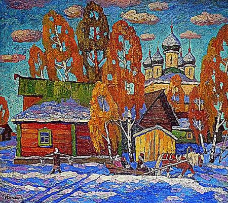 Igor Zagrievich Berdyshev. On the first snow