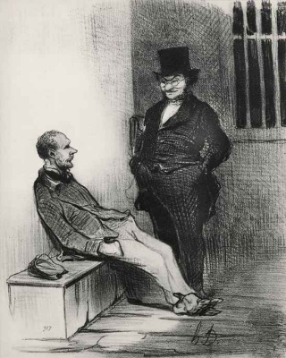 Honore Daumier. If not charged with twelve thefts
