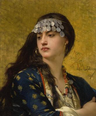 Jules Joseph Lefebvre. Fatima. 1883