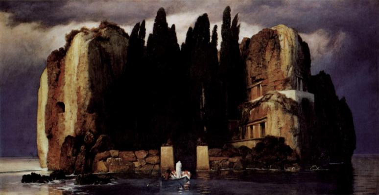 Arnold Böcklin. Dead island
