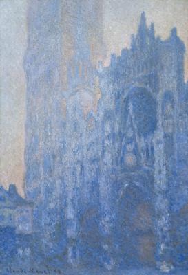 Клод Моне. Руанский собор, главный вход и Тур д'Альбан на рассвете