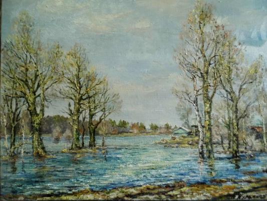 Victor Vladimirovich Kuryanov. Big water