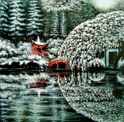 Alex Visiroff. Winter in Japan