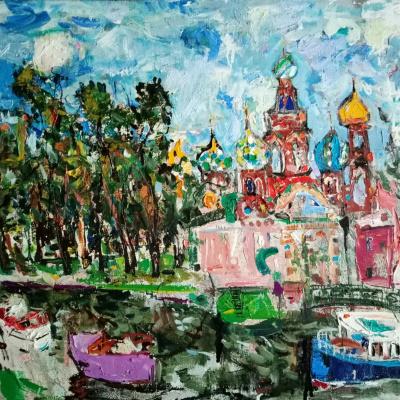Alexander Borisovich Boyadjan. Moika Embankment