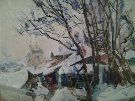 Николай Иванович Климов. Зимний двор